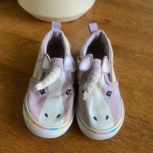 Unicorn vans toddler shoes