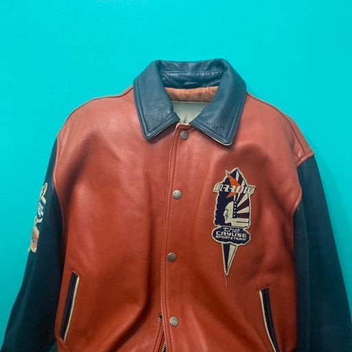 Avirex Vintage Leather jacket XXL