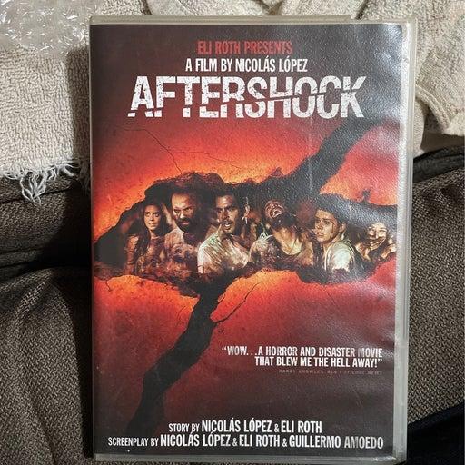 Eli Roth's Aftershock DVD