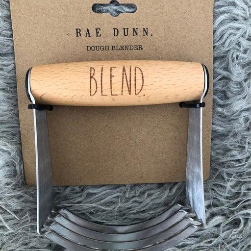 Rae Dunn BLEND Metal Dough Blender