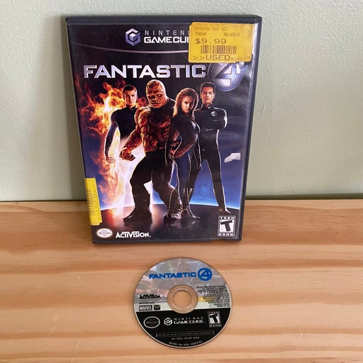 Fantastic Four (2005) on Nintendo GameCube COMPLETE IN BOX