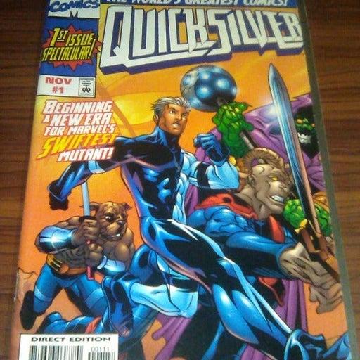 #89: QUICKSILVER   #1MJ   $2.99   1997   NM  MARVEL COMICS