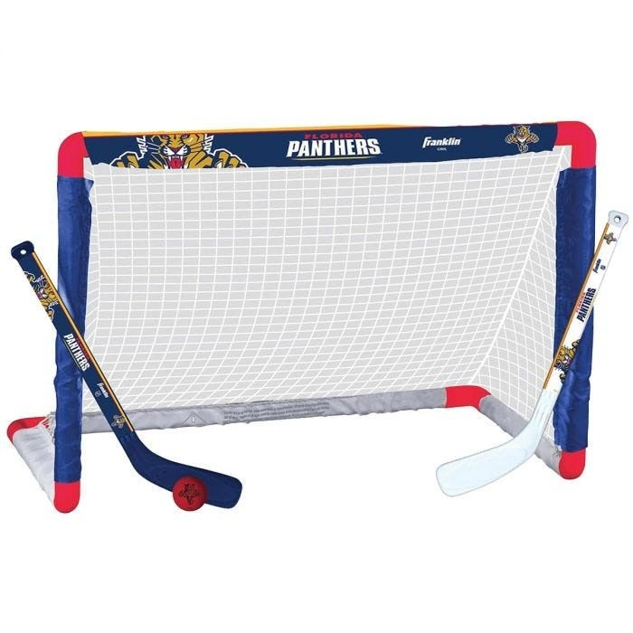 Florida Panthers Mini Hockey Goal Set