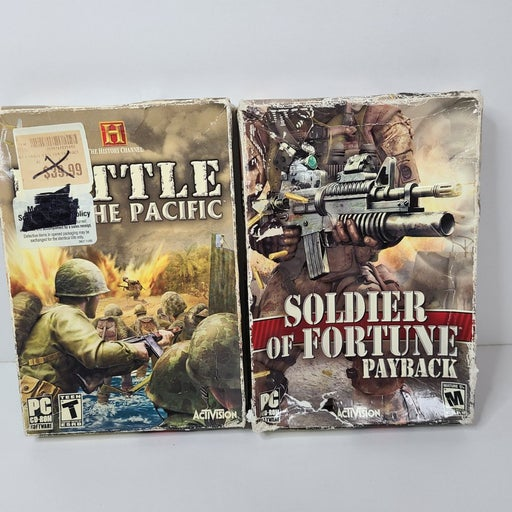2 PC Activision video games