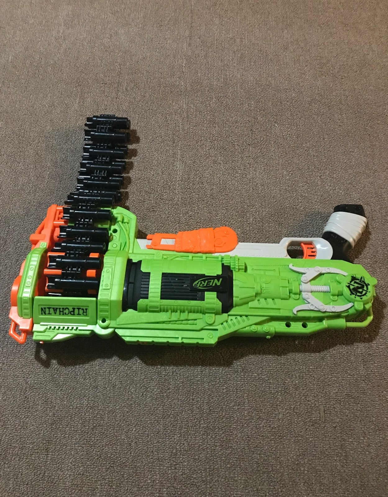 Nerf ripchain with no bullets