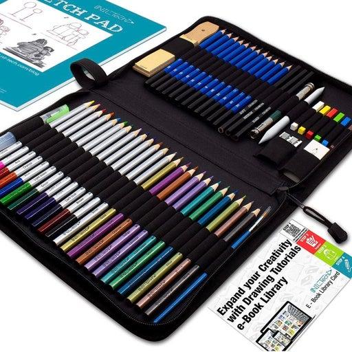 54 PCS Watercolor Pencils Art Supplies