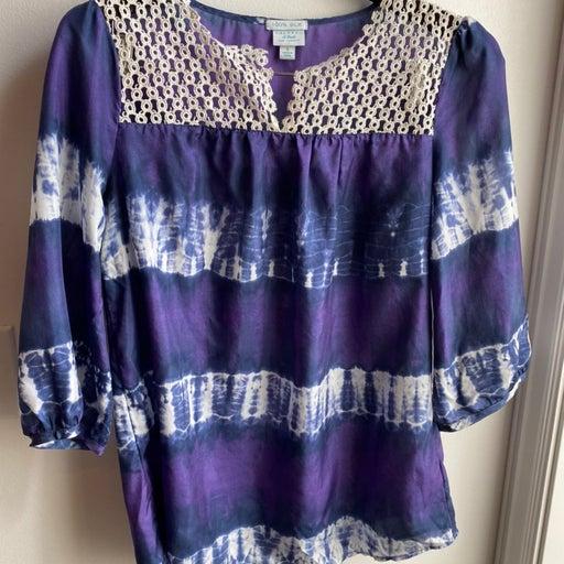 Calypso silk blouse