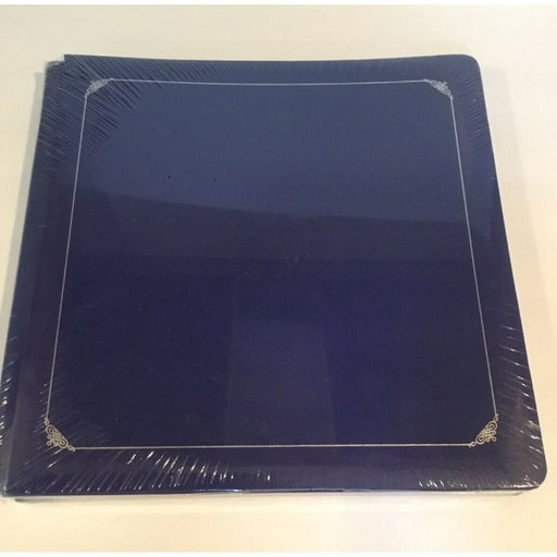 Creative Memories Sapphire Blue Premiere Album 12x12 Old Style White Pages NEW a