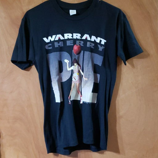 Vintage 1990's Warrant Cherry Pie T-shir