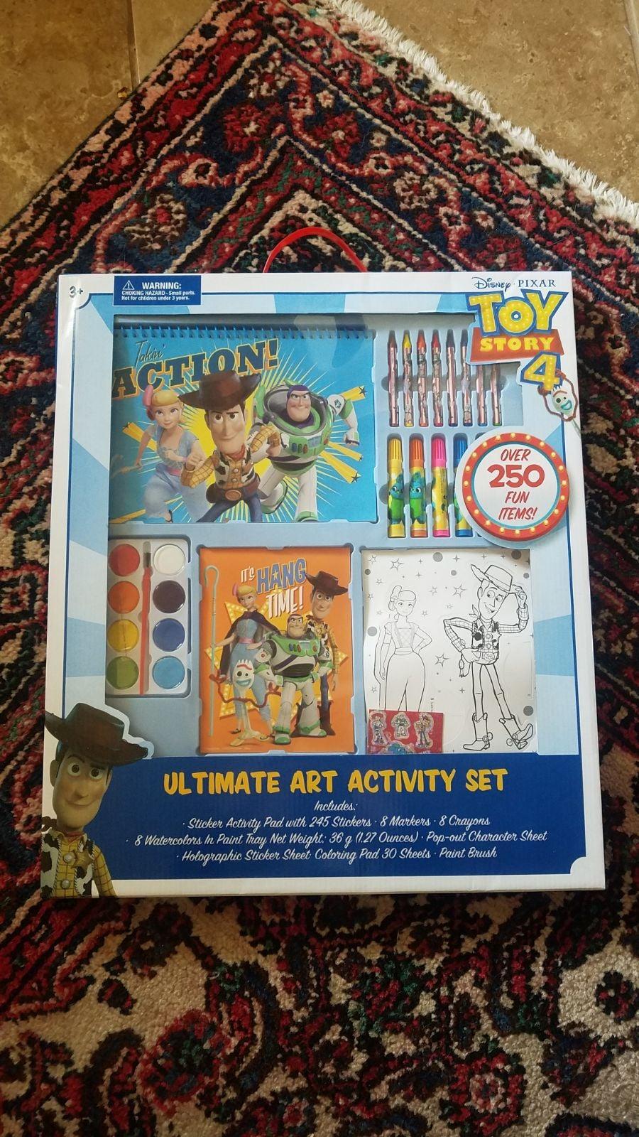 Toy Story Artist Art Activity Set - NEW