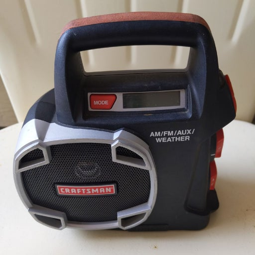 craftsman work radio