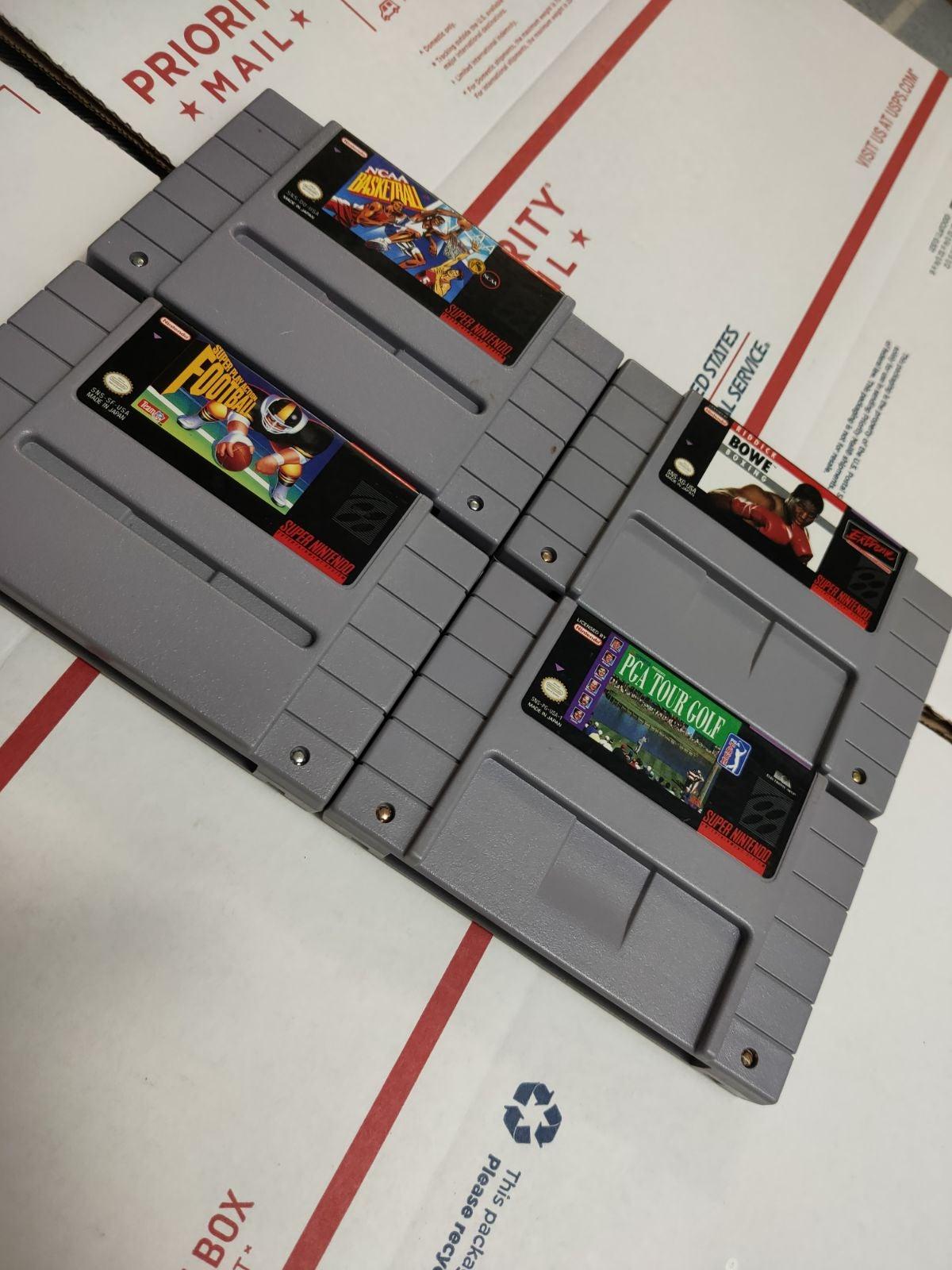 SNES game lot