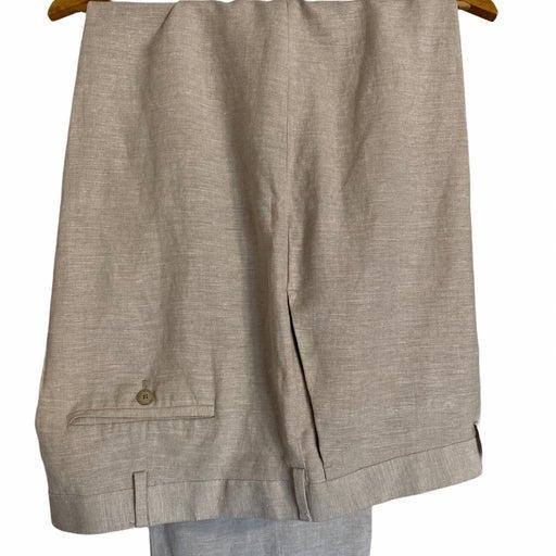 Men's Cubavera Linen Pants 48x32