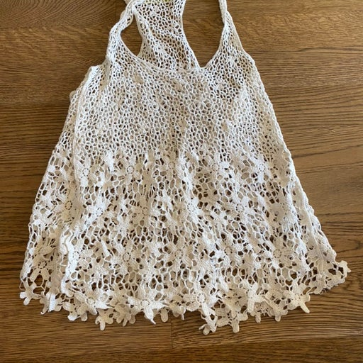 Nordstrom lace crop top womens