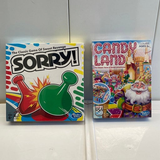 Hasbro Sorry and Candy Land Sealed board games
