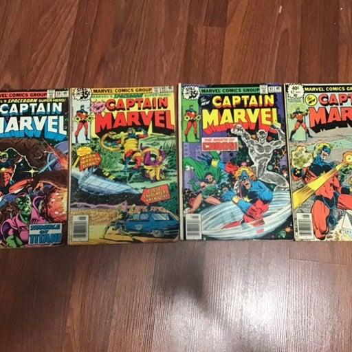 Captain Marvel Lot