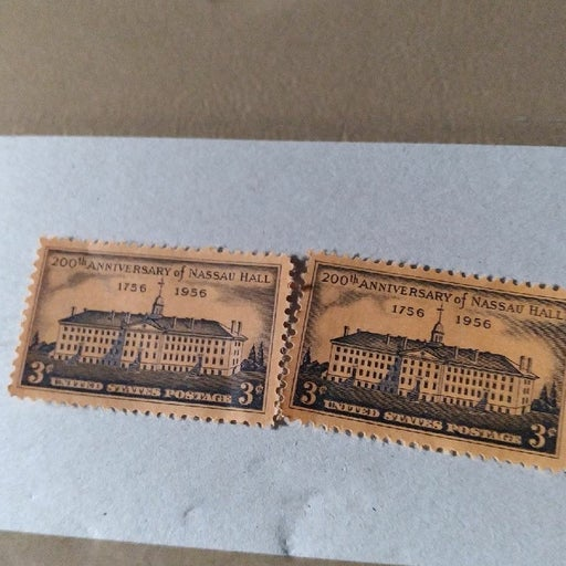 2 1956 stamps