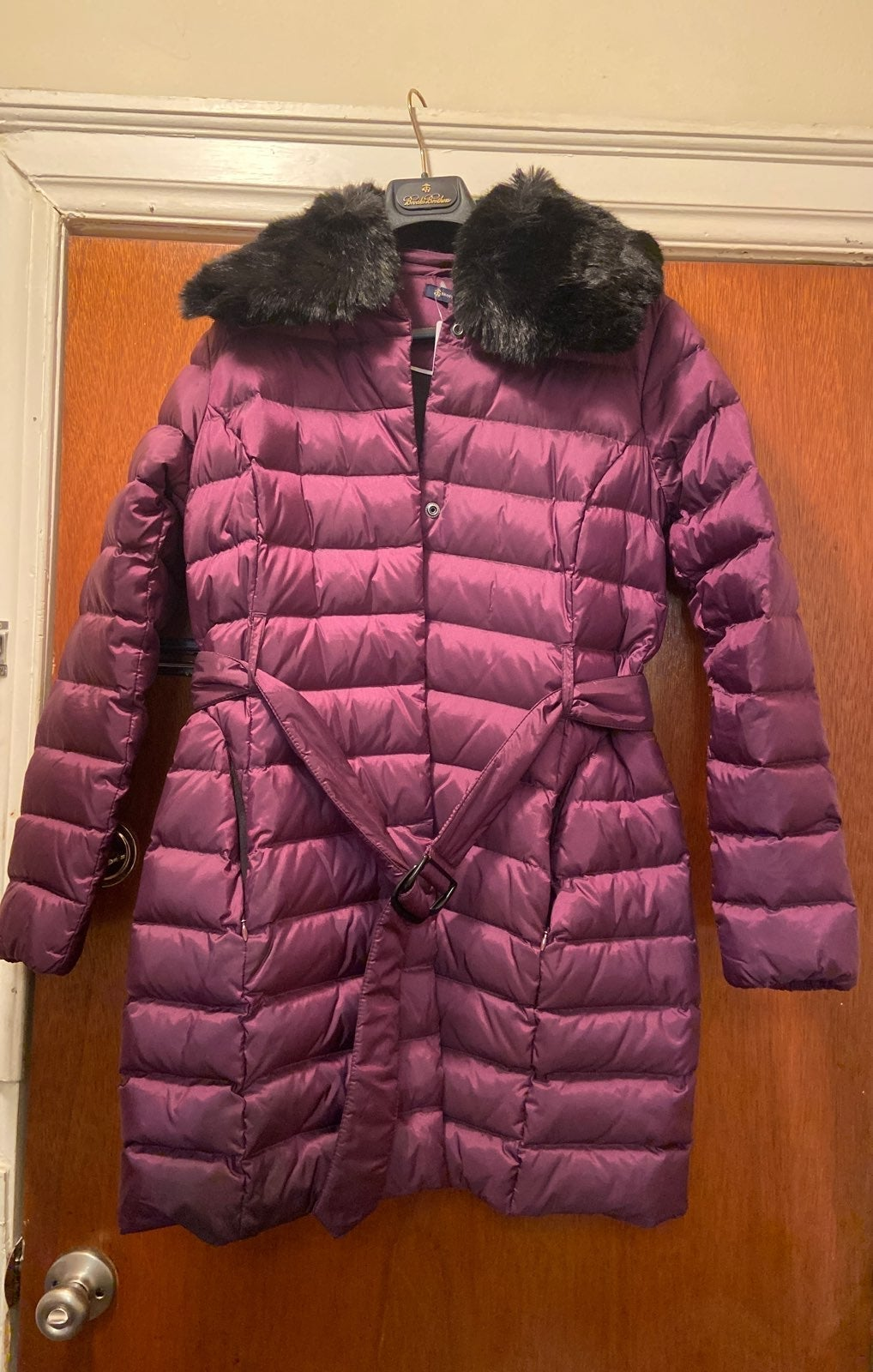 NWT Brook Brothers Womens Down Coat