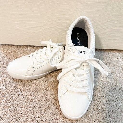 Nautica White Sneakers
