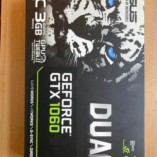 ASUS Dual GeForce GTX 1060 OC 3GB