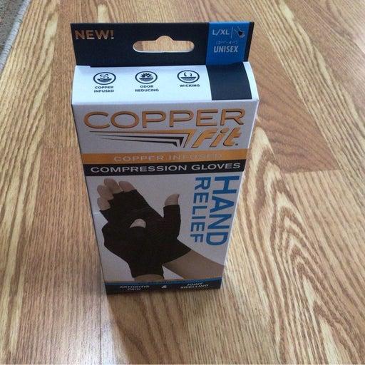Copper Fit Compression Glove (L/XL)