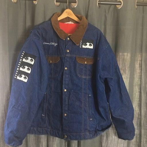 Vintage Chicago Film Denim jean Jacket