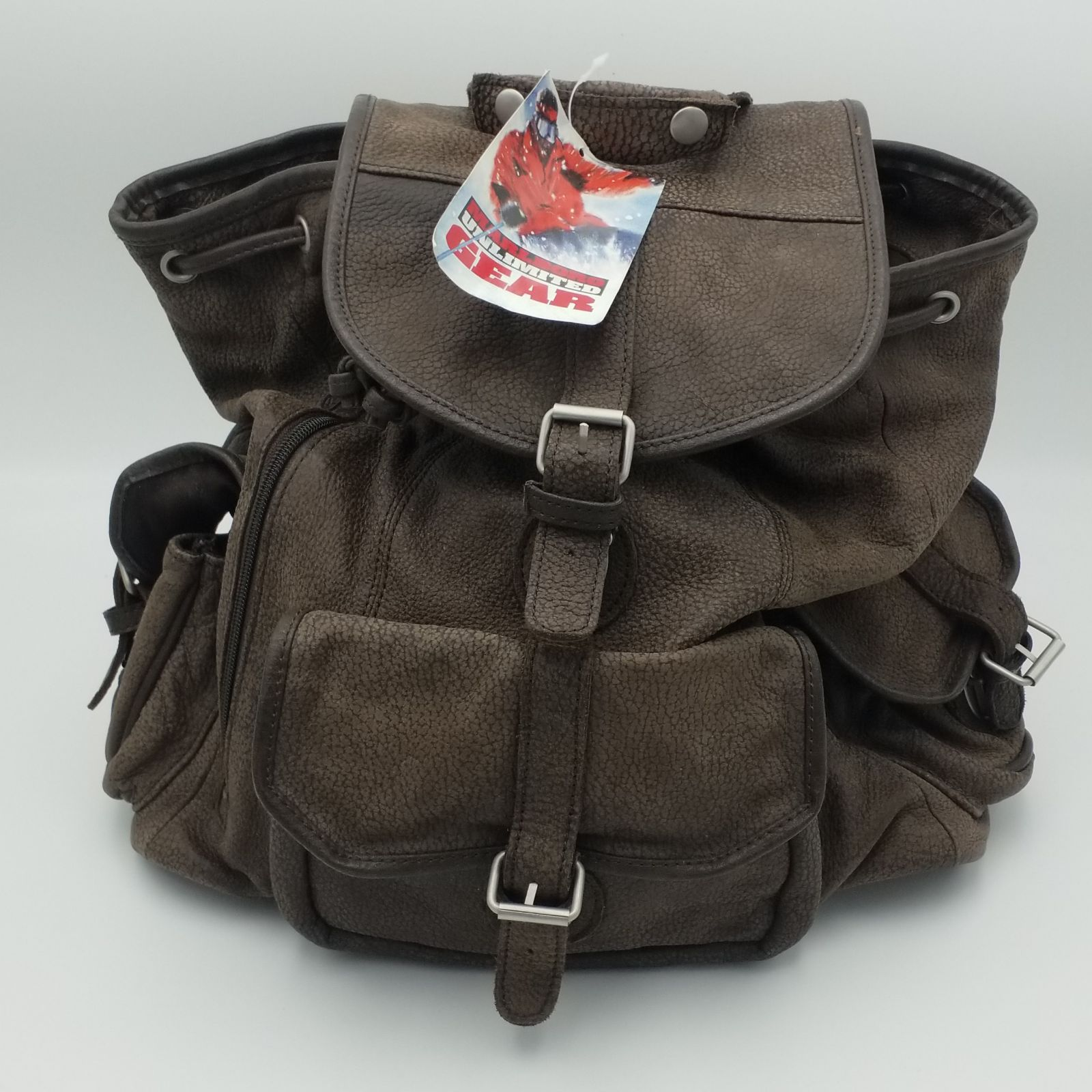Leather Marlboro Unlimited Gear Backpack