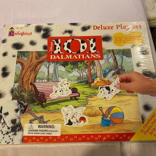 Deluxe Colorforms Disney 101 Dalmation play set