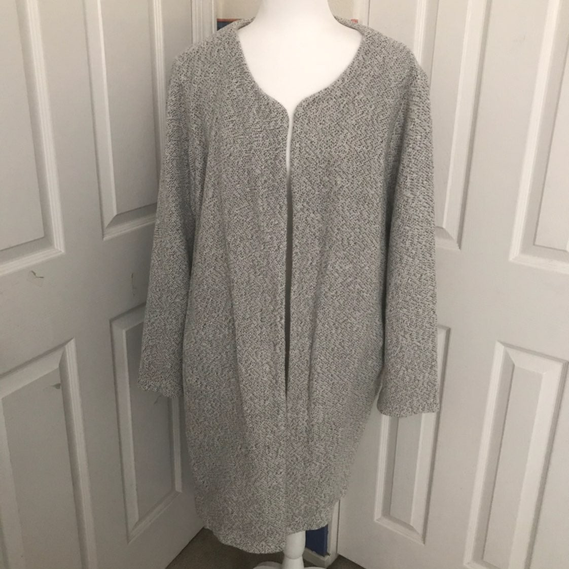 A New Day Open-Front Cardigan - Sz L
