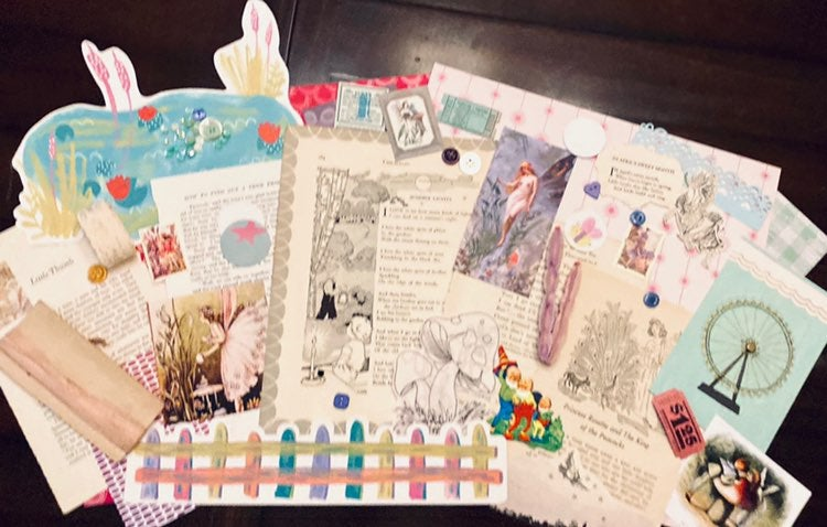 The Pink Fairytale Ephemera Kit