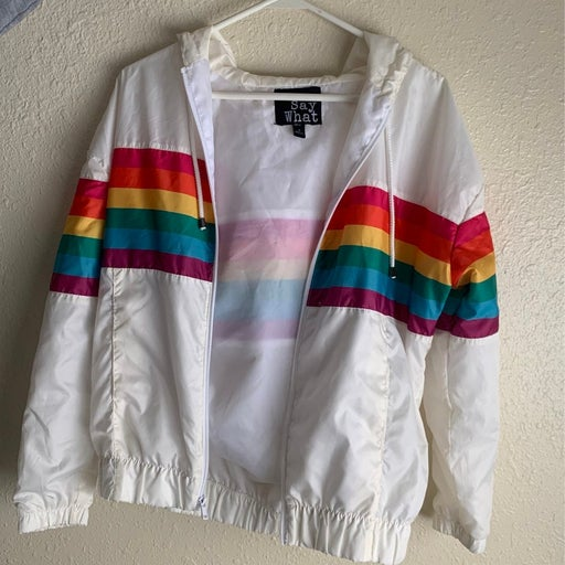 Bomber Jacket Rainbow
