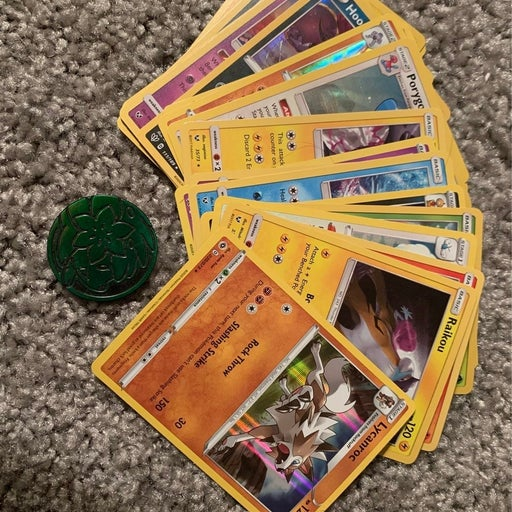 holo pokemon cards lot