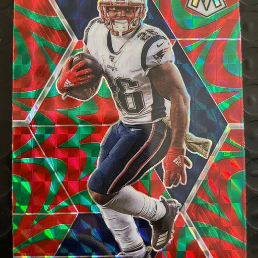 Sony Michel Mosaic Red/Green Reactive Prizm