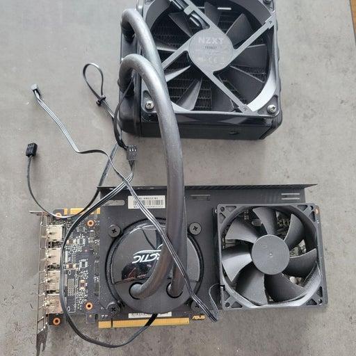 ASUS GTX 1080Ti Custom Cooling nvidia