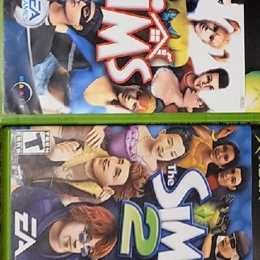 The Sims 1 and 2