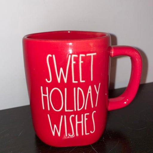 Rae dunn sweet holiday wishes christmas mug