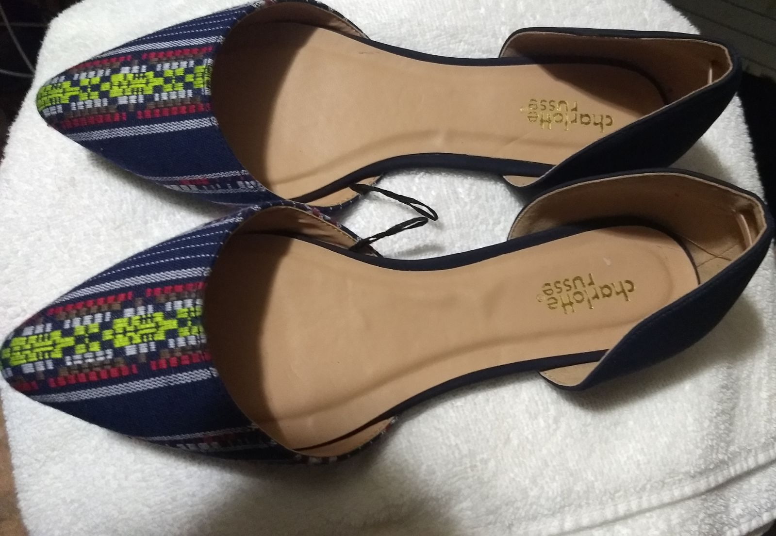 Charlotte Russe Pointed Toe D'Orsay Flat