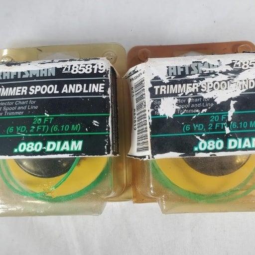 2 - Craftsman Trimmer Spools 7185819