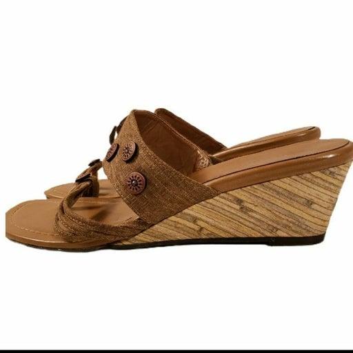 Ann Marino Wedge Sandals