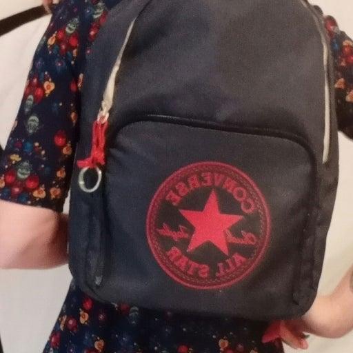 Converse fabric backpacks