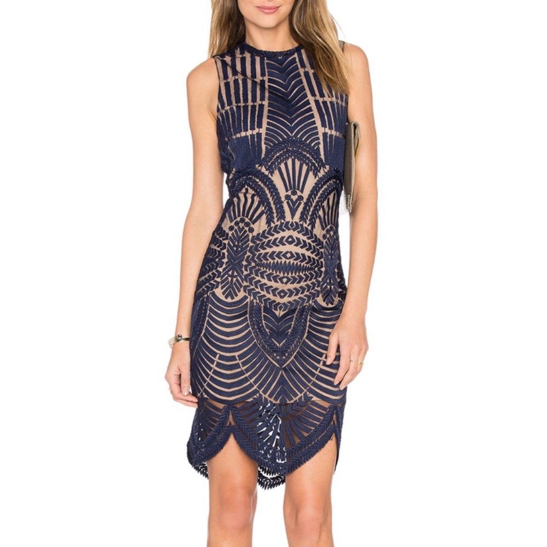 Bardot 'Divinity' Dress in Ink