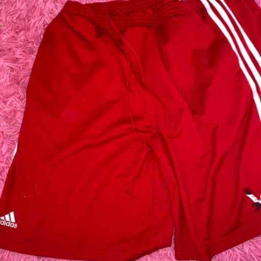 Adidas 3-Stripes Shorts red