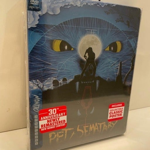 Pet Sematary Limited Edition Mondo SteelBook