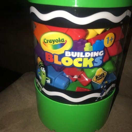 Crayola building blocks