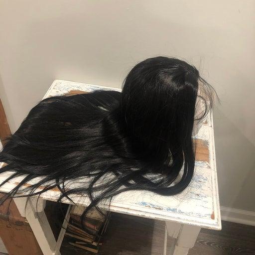 Extra Long Black Hair Wig. NEW
