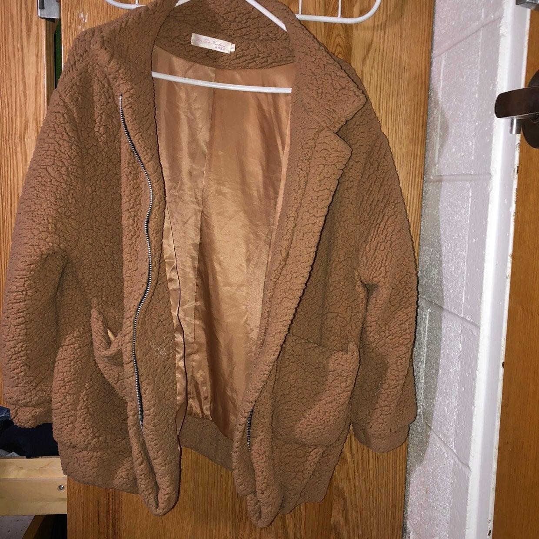 Tan Bear Coat