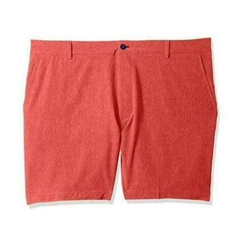 Izod Men's 46x8 Hybrid Shorts Big & Tall Cardinal/Red 46W NWT