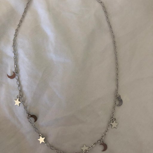 Cute Sun and Moon Necklace - Brand New