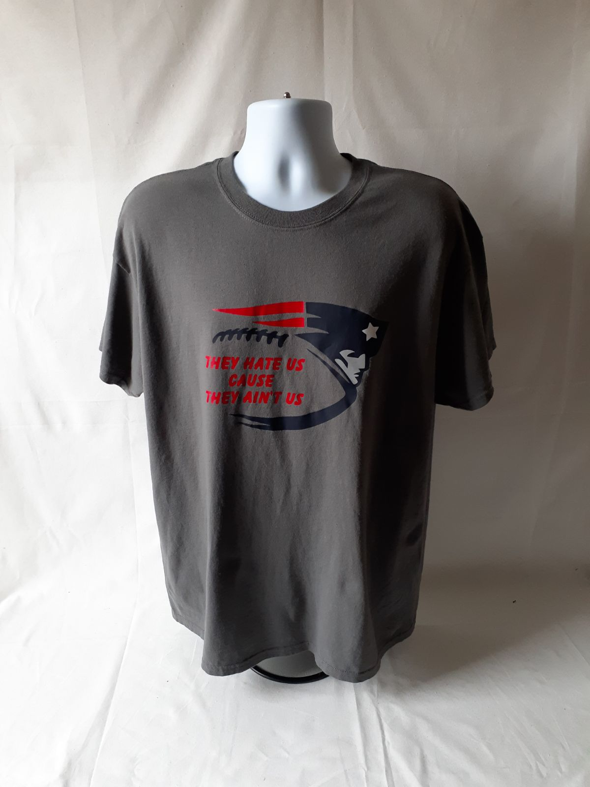New England Patriots mens short sleeve T