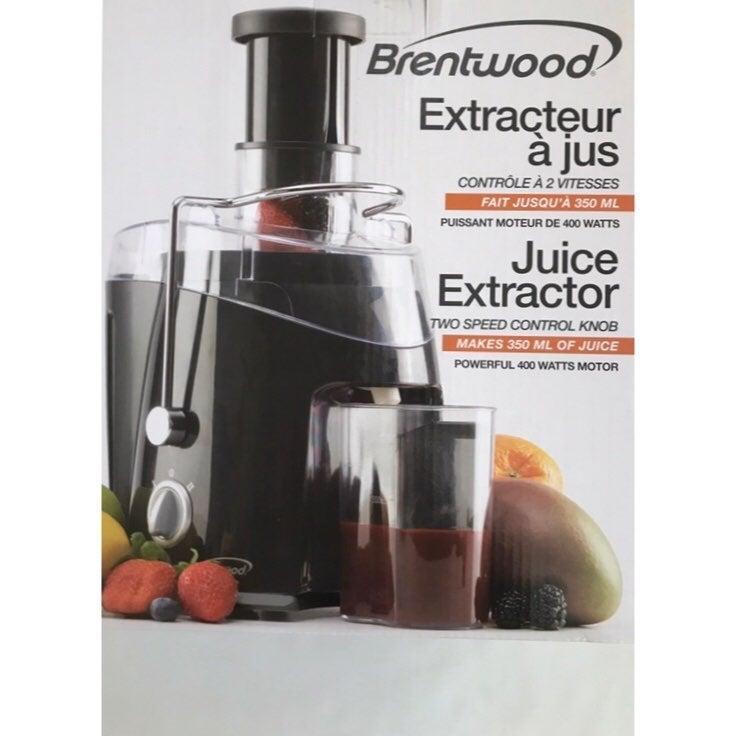 Brentwood 2-Speed 400w Juice Extractor
